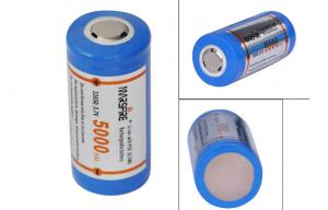 China 3.7V Rechargeable Lithium Ion Battery 5000mAh with PCB Li - ion Battery Recharge on sale