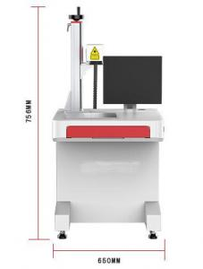 China 10000 Hours Silica Gel CO2 Laser Marking Machine For Small Industries on sale