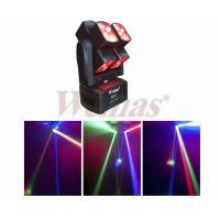 8pcs 10Watt RGBW 4IN1 LED Moving Head Light Stage For Disco KTV Bar Night Club Eight Head Wind-Fire Rings Beam