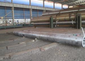 China High Pressure Boiler Hot Rolled Steel Pipe , Hot Rolled Tube 46'' Large Caliber on sale