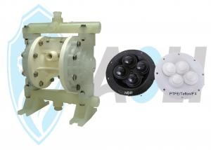 China Conveying Machinery Pneumatic Diaphragm Pump Material In SS304, SS316,SS316L on sale
