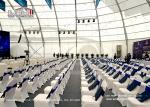 Customized Conference PVC Polygon Tent Flame Retardant DIN4102
