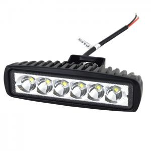 China 6'' inch 18W Spot LED Work Light Lamp off Road High Power ATV Jeep 4x4 Tractor off Road Light Fog Driving Bar on sale