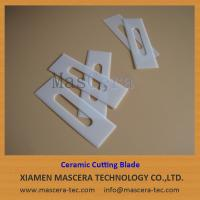 Zirconia ZrO2 Ceramic Cutting Blades with Good Wear Resistance
