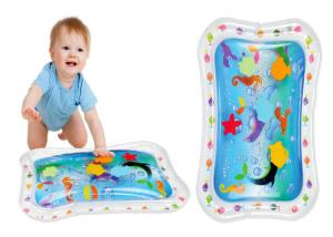China Summer Cooling Inflatable Water Toys / Inflatable Baby Water Mat For Kids on sale