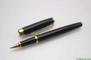 China engraved gift use metal roller ballpen, brass material on sale