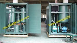 China turbine lube oil filtration plant, oil recycling, oil recovery,dehydration,degasifier on sale