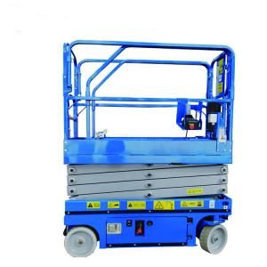 China Narrow8m Small Electric Hydraulic Material Scissor Lifting Platform on sale