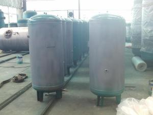 China 8mm compressed air tank for storage ethanol , CNG , Glp  / air compressor holding tank on sale