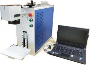 China LCD Screen Optic Device UV Laser Marking Machine Small Volume 3 Watt / 5 Watt on sale
