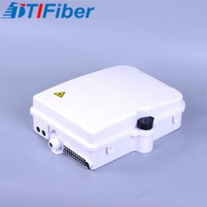 China ABS Material Fiber Optic Distribution Box FTTH Wall Mounted 24 Core 10 Years Warranty on sale
