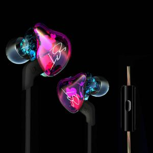 China In Ear Earphone Hybrid Headset HIFI Bass Noise Cancelling Mic Cable USB Wireless Bluetooth Earbuds  for All Smart Phone supplier