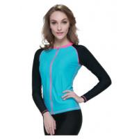 Surfing Jacket Neoprene Tops For Women , 3mm Neoprene T Shirt