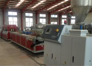 China WPC Profile Making Manufacturing Plastic Machine , Plastic Celling Profile Extrusion Machine on sale