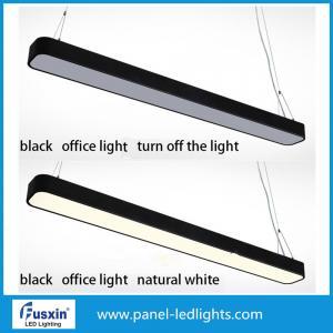 China 1800LM 18w 36w IP65 Led Hanging Office Pendant Light Modern Aluminium Strip on sale