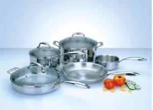 China 24cm / 26 / 28 Cm Stainless Steel Cooking Flat Pans Set Non Stick on sale