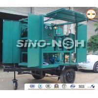 China Oil Dielectric Improving Transformer Oil Filtration Machine High Speed Degassing Spiral Flow Structure on sale