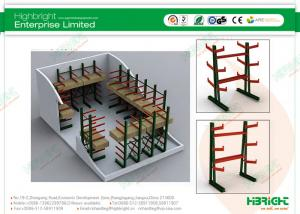 Quality Anti Rust Supermarket Shelf Display, Customized Adjustable Pallet Storage for sale
