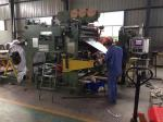 High Speed Transformer Manufacturing Machinery , Double Layer Transformer Foil Winding Machine
