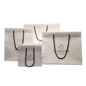 China 80gsm SGS CMYK Eco Friendly Shopping Bag With Rope Handles on sale