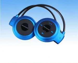 China High End Mini Running Bluetooth Headset Sweat Proof With Micro Sd Card Slot on sale
