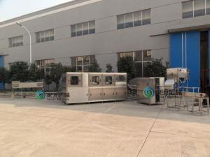 China Auto Liquid Filling Machine , Mineral Water Bottling Plant With 3 Heads on sale