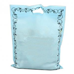 China Advertising Storage Woven Grocery Bags , Non Woven T Shirt Bag Foldable on sale