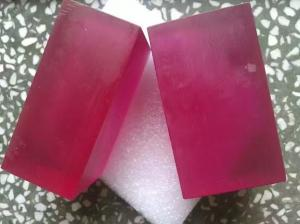 China High Gain Raw Synthetic Ruby Excellent Thermal Conductivity For Laser Machine on sale