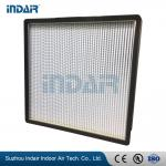 Ultra Thin Design Mini Pleat HEPA Filter Space Saving High Dust Loading Capacity