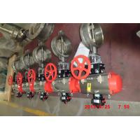 Stainless Steel Butterfly Valve for Industrial Chemical / Power / Light Textile