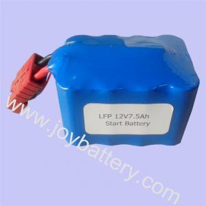 China 12V 7.5Ah 4S2P start battery/K2 26650 LiFePo4 cell motorcycle start battery/LFP26650P K2 on sale