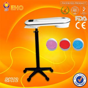 China home use newest 3 color led pdt photon facial therapy skin beauty lamp on sale