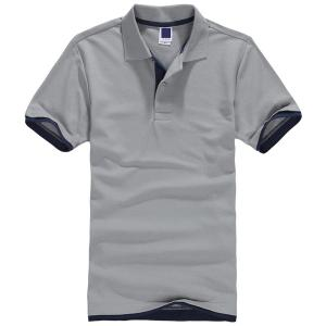 China printed solid cheap polo shirts for men on sale