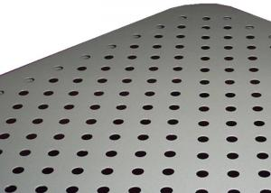 China 3003 Polished Aluminum Perforated Metal Electronic Enclosures Weldable on sale