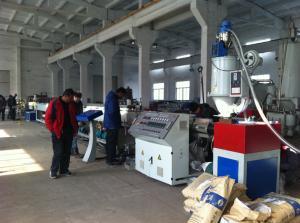 China SJ Series Plastic Extruder Single Screw , PLC Control on sale