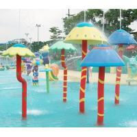 Customized  Waterpark Fiberglass Spray Mushroom Aqua Equipment For Kids Games