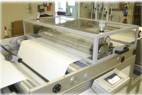China Efficiency Six Pairs Rotary Air Filter Pleating Machine , 1000mm Width on sale