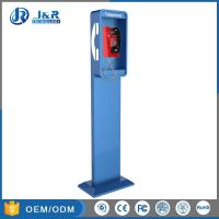 China Vandal Resistant Highway Emergency Phone Pillar , Roadside Phone Protection Pillar on sale