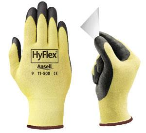 China 13Gauge Seamless Knit Impact Cut Resistant Glove ZMR411 on sale