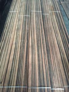 China Black Ebony Natural Wood Veneer for furniture door and panel on sale
