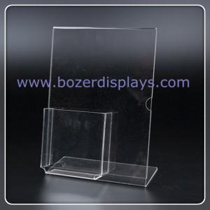 China Acrylic Business Card Holders/Superior Image Sign Holder direct from Manufacture on sale