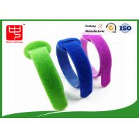 Eco friendly hook and loop hook and loop cable ties , adjustable cable ties back to back