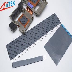 China Thermal Conductive 3W Silicone Free Gap Filler Pad –20 To 125 ℃ on sale