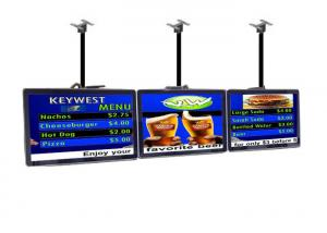 China Indoor Commercial LCD Display Restaurant Digital Menu Boards Advertising Player on sale