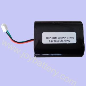 China A123 26650 1S2P 3.2V 5000mAh LiFePO4 battery pack,A123 rechargeable batteries 26650 on sale