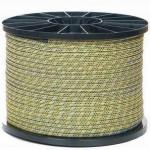 電源コード7mm 24本の繊維ロープ