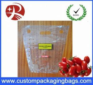 China Impresión de empaquetado de la placa de cobre de los bolsos de la fruta portátil de la perforación on sale