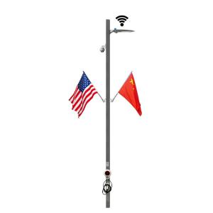 China IEC City Smart Power Application / Smart Light Pole For Streeting Light on sale