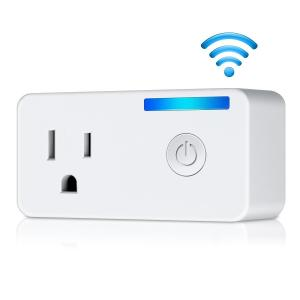 Quality 2.4 GHz Energy Monitoring Wifi Plug Socket Compatible With Amazon Alexa And for sale