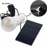 Hot 15w Solar Lamp Powered Portable Led Bulb Lamp Solar Energy Lamp led Lighting Solar Panel Camping light